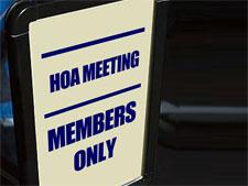 hoa meeting